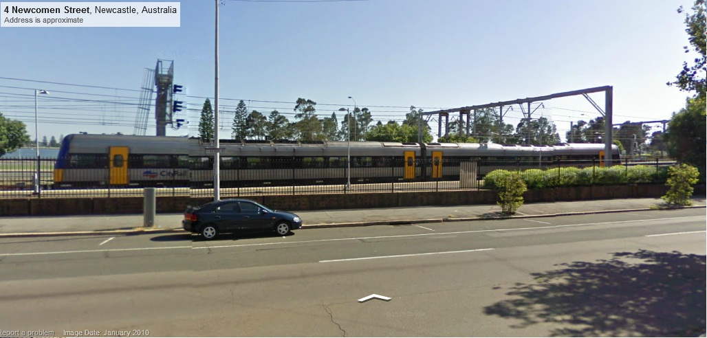 how to catch a train from sydney to newcastle