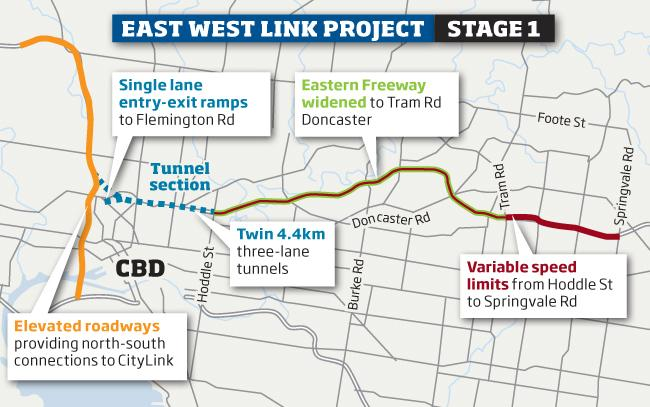 217267 linkmap melbourne's east west link tunnel proposal has low benefit cost
