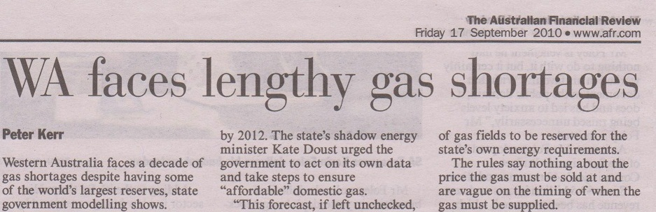 AFR_WA_faces_lengthy_gas_shortages