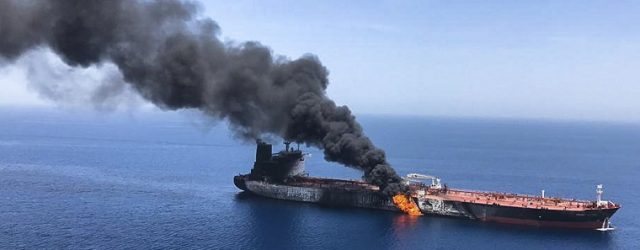 Tankers holed and burning in the Gulf of Oman are not a good sign for future oil exports from the Persian Gulf. Fig 1: Norway's Front Altair burning with 75,000 […]