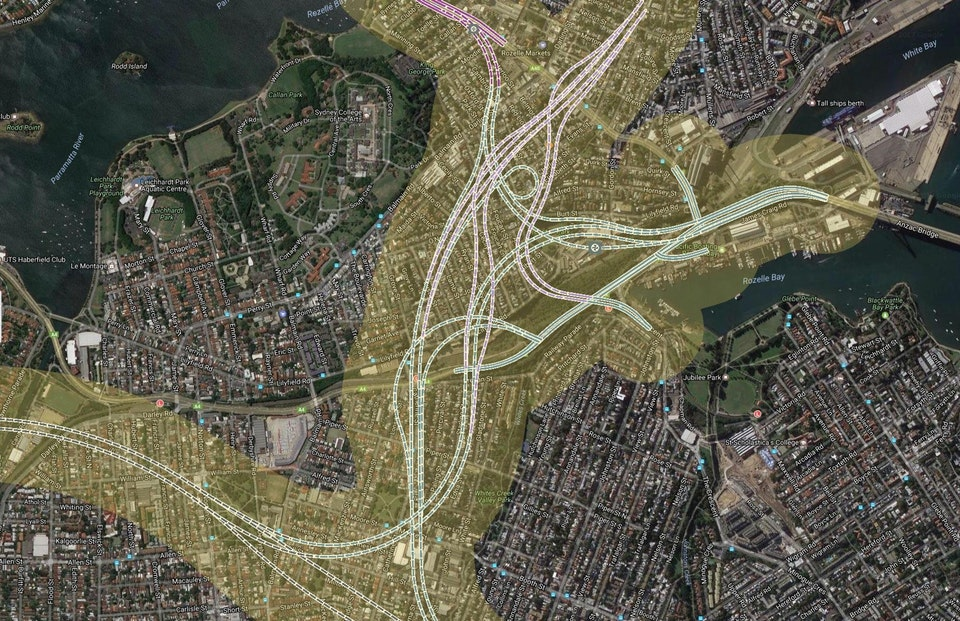 Rozelle_interchange