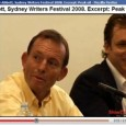 Does he know it now? In July 2008, at the Sydney Writer's Festival http://www.themonthly.com.au/video/2013/03/24/1364105225/future-liberal-party-part-2 Hardly noticed at the time, this is the video of the day in crikeyhttp://www.crikey.com.au/2009/12/02/peak-oil after Tony […]