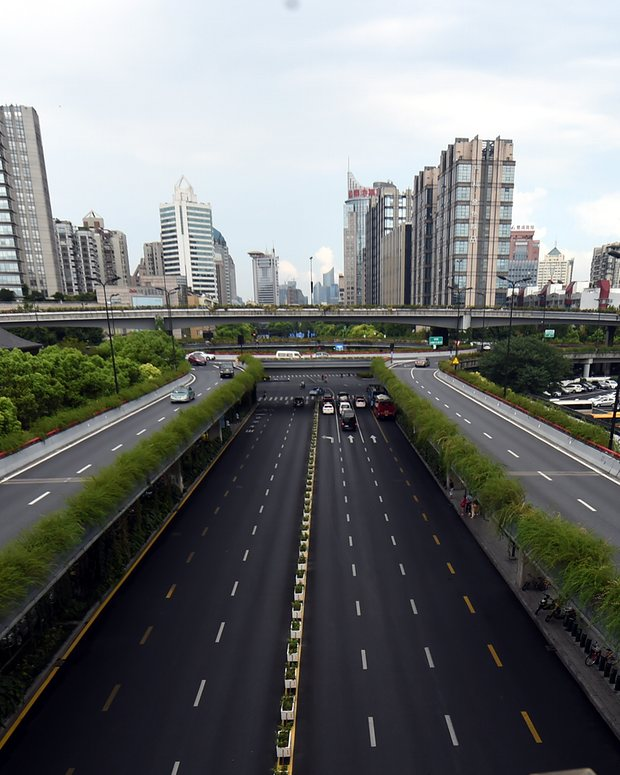 Empty_roads_Hangzhou_G20