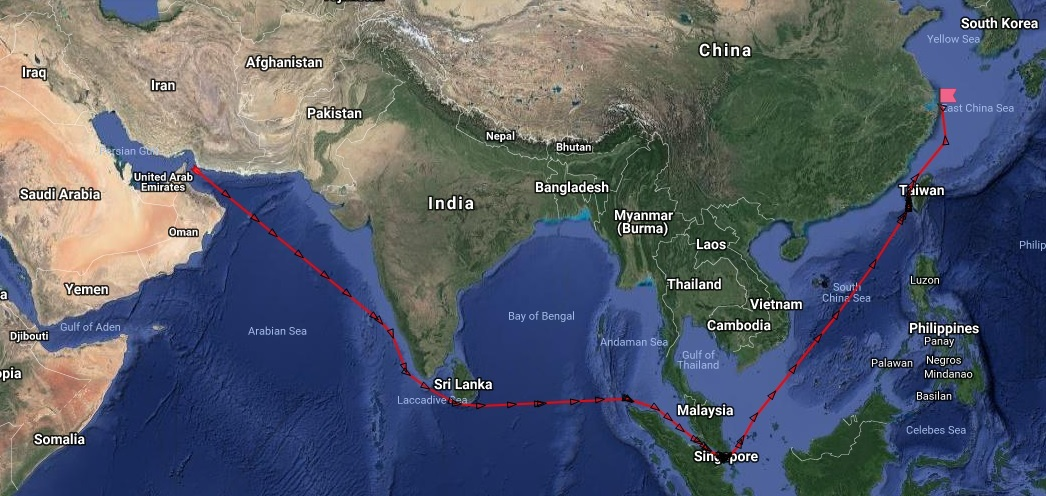 Tanker_route_China